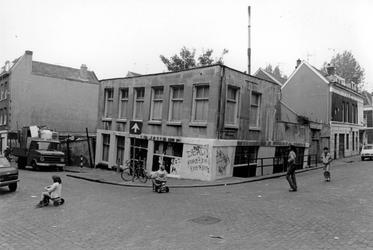 2005-10154 De 1e Crooswijksedwarsstraat ter hoogte van de hoek van de Rubroekstraat.