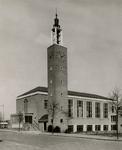 2005-1483 Exterieur van de Opstandingskerk van de Nederlands Hervormde Kerk aan het Lisplein.