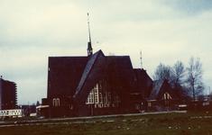 2005-1485 Exterieur van de Nieuwe Kerk van de Nederlands Hervomde Kerk aan het Zuidplein.