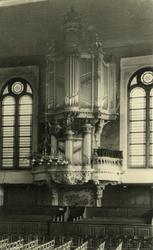 2005-1493 Het orgel in de Oosterkerk aan de Hoogstraat van de Nederlands Hervormde Kerk.