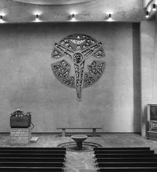 2005-1498 Interieur van de Pauluskerk aan de Mauritsweg van de Nederlands Hervormde Kerk.