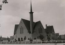 2005-1500 Exterieur van de Statensingelkerk van de Gereformeerde Kerk aan de Statensingel.
