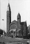 2005-1502 Exterieur van de Bergsingelkerk van de Gereformeerde Kerk aan de Bergsingel.