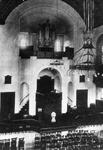 2005-1503 Interieur van de Bergsingelkerk van de Gereformeerde Kerk aan de Bergsingel.
