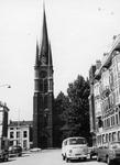 2005-1514 Exterieur van de Rooms Katholieke kerk van de Allerheiligste Verlosser aan de Goudse Rijweg. Opname vanuit de ...