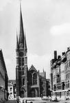 2005-1515 Exterieur van de Rooms Katholieke kerk van de Allerheiligste Verlosser aan de Goudse Rijweg. Opname vanuit de ...