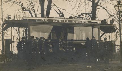 2005-1534 Eindpunt van tramlijn 1. van de R.E.T.M. Beursplein, Honingerdijk.
