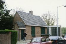 2005-1647 Groene Wetering met exterieur van pompgemaal.