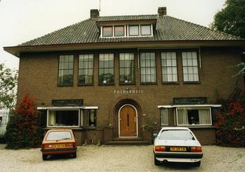 2005-1651 Exterieur van het Polderhuis aan de Hoofdweg.