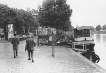 2005-5130 De Linker Rottekade uit noordelijke richting gezien. Verderop de splitsing met de Jonker Fransstraat.