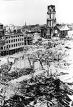 2005-5377 Gezicht op de door het Duitse bombardement van 14 mei 1940 getroffen omgeving van de Hoogstraat, Korte ...