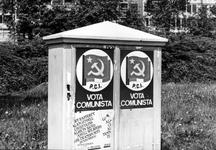 2005-5952 Verkiezingsaffiche voor de Italiaanse Communistische Partij.