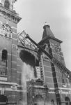 2005-6653-EN-6654 De Noorderkerk:Van boven naar beneden afgebeeld:-6653: De Jacob Catsstraat met de sloop van de NH ...