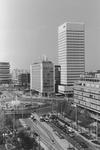 2005-6854-TM-6859 Overzichten:Van boven naar beneden afgebeeld:-6854: Overzicht vanaf de Coolsingel op het Hofplein. ...