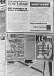 2005-7249 Politieke affiches voor de eerste mei. Dag van de Arbeid.