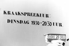2005-7338 Grafisch drukwerk van de Kraakbeweging in het Oude Noorden.