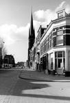 2005-9646 De Goudse Rijweg met de Redemptoristenkerk oftewel rk kerk van de Allerheiligste Verlosser en Barbara, later ...