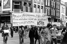 2005-9658-TM-9662 Protestdemonstratie:Van boven naar beneden:-9658: Protestdemonstratie op de Kruiskade tegen het ...