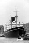 2005-9705-TM-9707 Het schip Jan Backx:Van boven naar beneden:-9705: De Parkhaven met op nr. 101 de ligplaats voor het ...