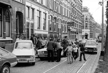 2005-9772 Op de Provenierssingel heeft een aanrijding met auto's plaats gevonden.