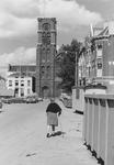 2005-9954 De Hugo de Grootstraat met op de achtergrond de Goudse Rijweg met de Redemptoristenkerk, RK Kerk van de ...