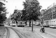 2005-9961 Een kraakactie in de voormalige dassenfabriek Migro aan de Provenierssingel-Proveniersstraat.