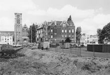 2005-9969 De Hugo de Grootstraat met op de achtergrond de Goudse Rijweg met de Redemptoristenkerk, RK Kerk van de ...
