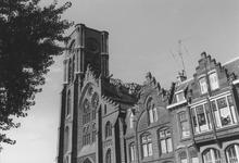 2005-9996 De Goudse Rijweg met detail van de Redemptoristenkerk, RK Kerk van de Allerheiligste Verlosser. Verbouwd ...