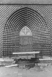 2005-9998 De Goudse Rijweg met de ingang van de Redemptoristenkerk, RK Kerk van de Allerheiligste Verlosser. Verbouwd ...