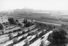 2005-9999 Overzicht op de omgeving van de Statenweg met Statentunnel. Gezien vanaf de Schimmelpenninckstraat. Links op ...