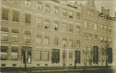 2007-1554 Exterieur van woonpanden in Rochussenstraat tussen Claes de Vrieselaan rechts en Heemraadssingel links.