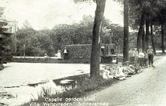 CAPHV-1054 Zicht op de 's-Gravenweg ter hoogte van de villa Weltevreden op nummer 215.