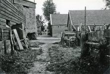 CAPHV-1434 Boerderij aan de 's-Gravenweg 251. Gebouwd voor 1832 en afgebroken in 1990.