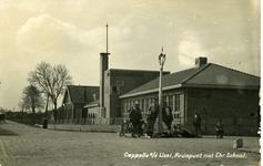 CAPHV-1461 Kruispunt Bermweg - Capelseweg met de Prins Alexanderschool.