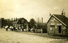 CAPHV-1463 Kruispunt Capelseweg met de Bermweg - Oost, ook wel de Onderweg genoemd.