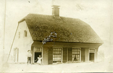 CAPHV-1486 Woningen aan de Dorpsstraat 199 en 201, gebouwd in 1845.