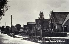 CAPHV-1528 Gezicht op de 's-Gravenweg in westelijke richting, ter hoogte van nummer 245.