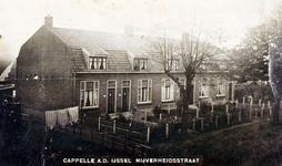 CAPHV-815 Woningen aan de Nijverheidstraat 247 tot en met 255 in Capelle aan den IJssel (Capelle-West).