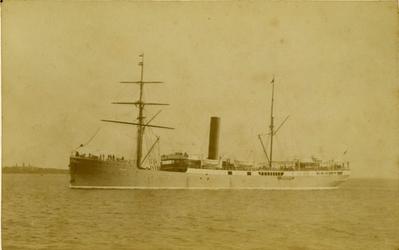 FD-12229 Opname van het stoomschip Salak van de Rotterdamsche Lloyd.