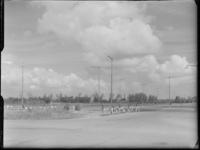 FD-4286-11 Opname van de Zuiderparkweg met op de achtergrond het Zuiderpark, de toren van de Bethelkerk aan de ...