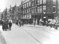 IX-872-01 De Gedempte Botersloot bij de Heerenstraat, vóór de doorbraak van de Meent.