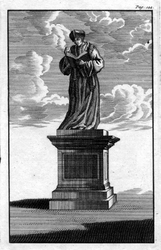 M-682 Standbeeld van Desiderius Erasmus, humanist.