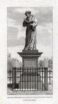 M-684 Standbeeld aan de Grotemarkt van Desiderius Erasmus, humanist.
