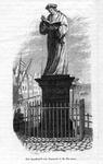 M-685 Standbeeld op de Grotemarkt van Desiderius Erasmus, humanist.