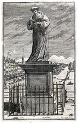 M-686 Standbeeld van Desiderius Erasmus, humanist.
