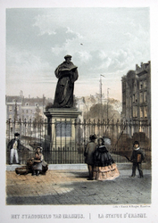M-689 Standbeeld van Desiderius Erasmus, humanist.