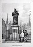 M-690 Standbeeld van Desiderius Erasmus, humanist.