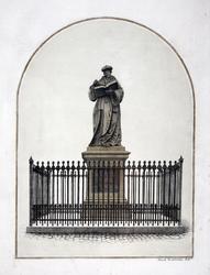 M-692 Standbeeld van Desiderius Erasmus, humanist.