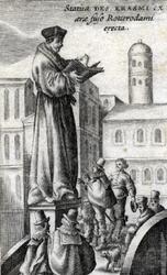 M-693 Standbeeld van Desiderius Erasmus, humanist.