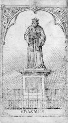 M-694 Standbeeld van Desiderius Erasmus, humanist.